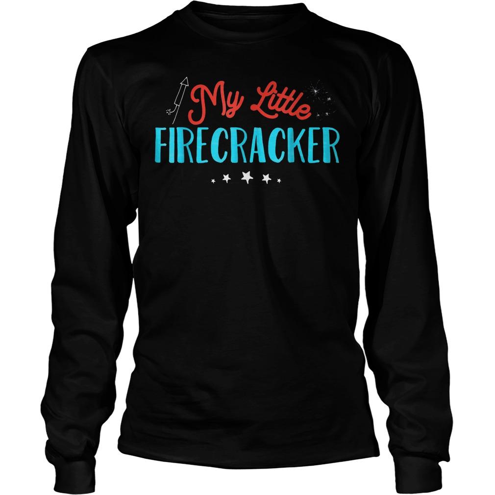 My Little Firecracker T-Shirt Unisex Longsleeve Tee