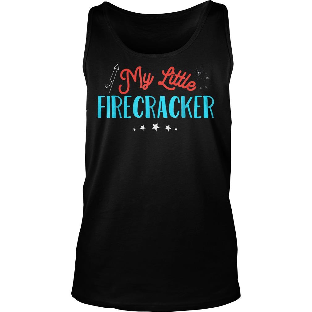 My Little Firecracker T-Shirt Unisex Tank Top