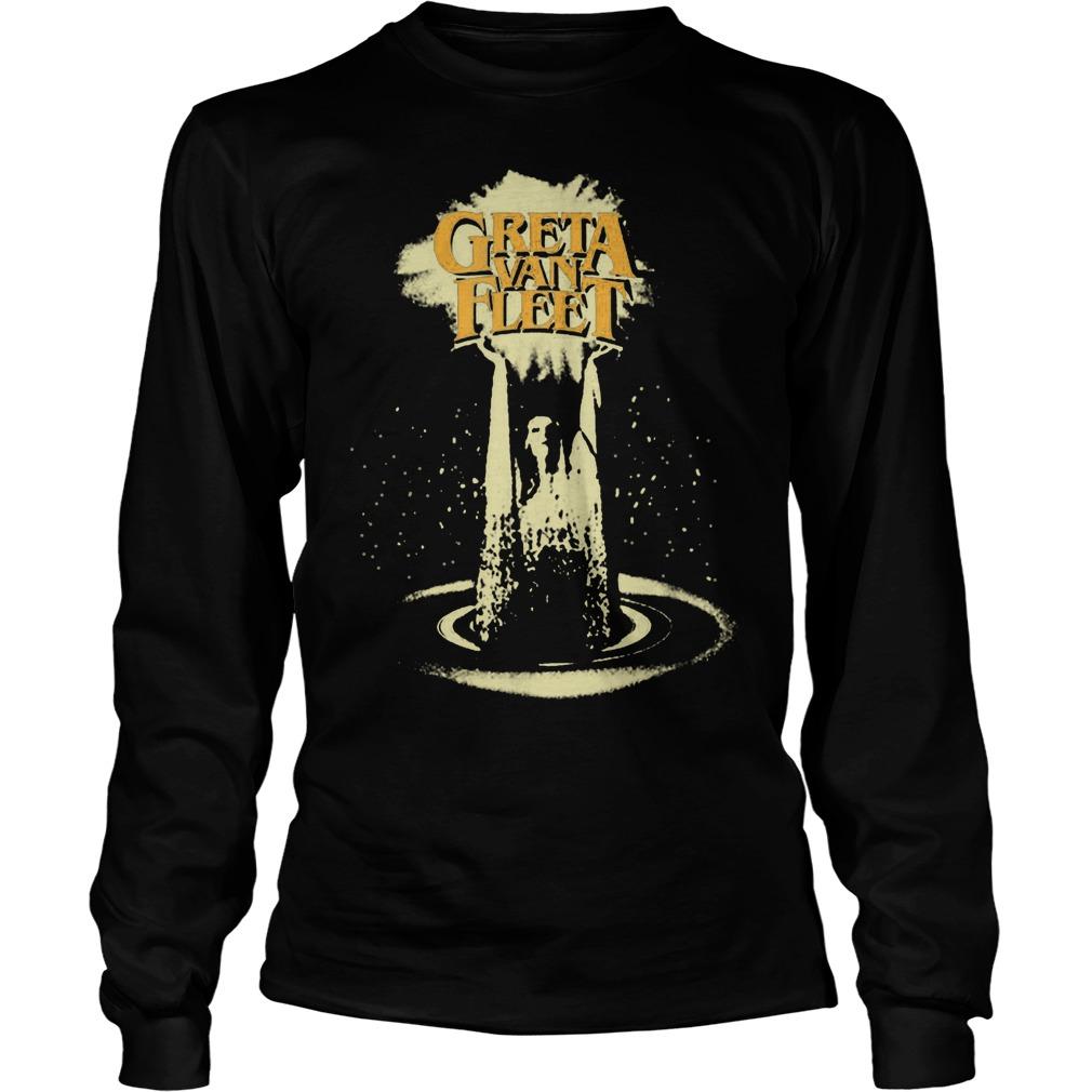 Official Greta Van Fleet GVF T-Shirt Longsleeve Tee Unisex
