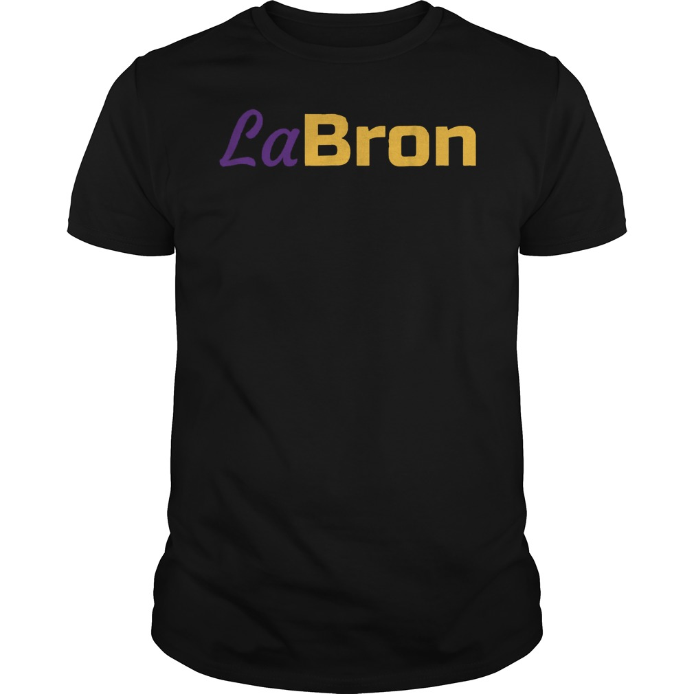 Official Labron Lebron Lakers T-Shirt Guys Tee