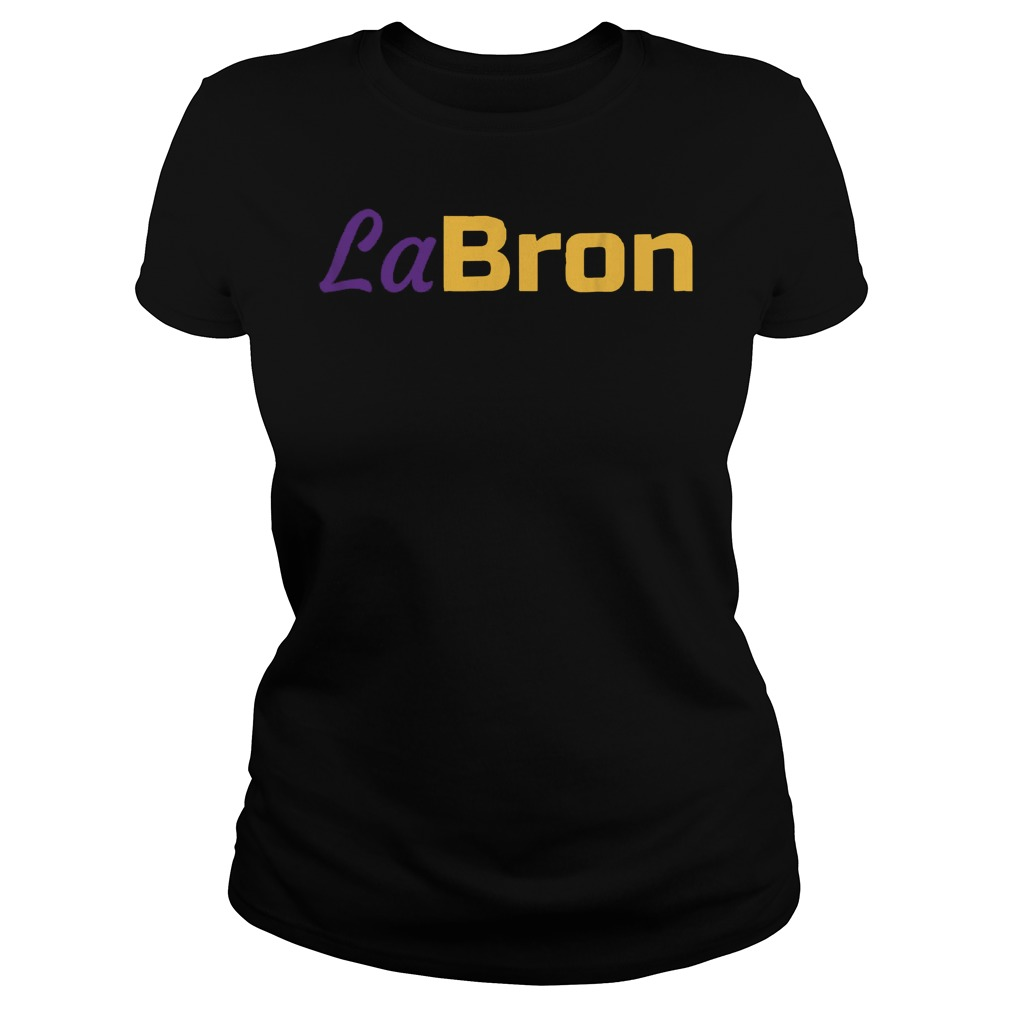 Official Labron Lebron Lakers T-Shirt Ladies Tee