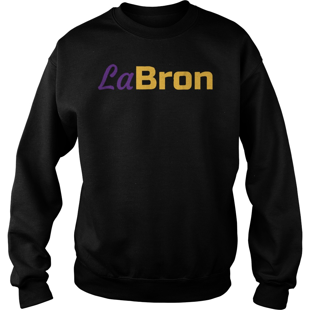 Official Labron Lebron Lakers T-Shirt Sweat Shirt
