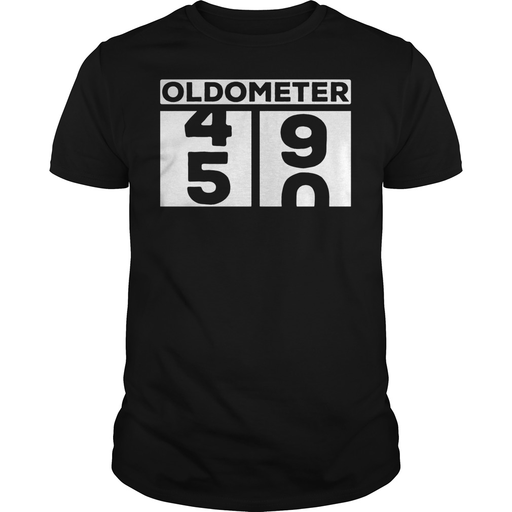 Oldometer 50th T Shirt