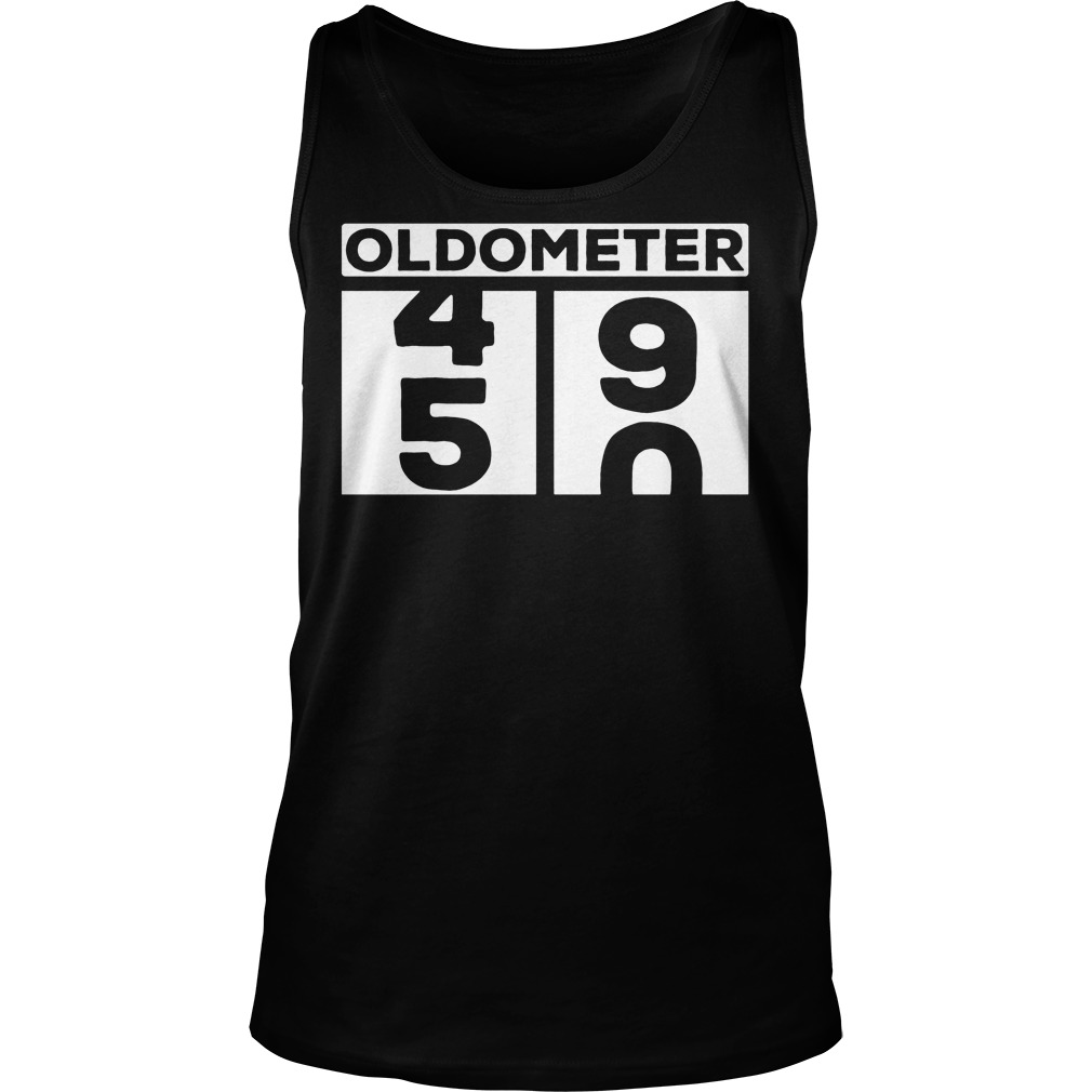 Oldometer 50th T-Shirt Unisex Tank Top