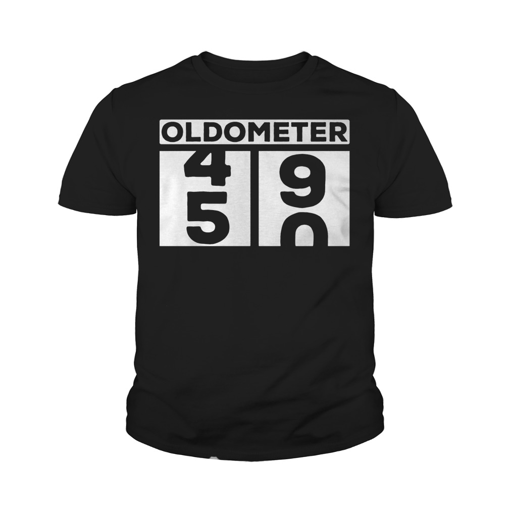 Oldometer 50th T-Shirt Youth Tee
