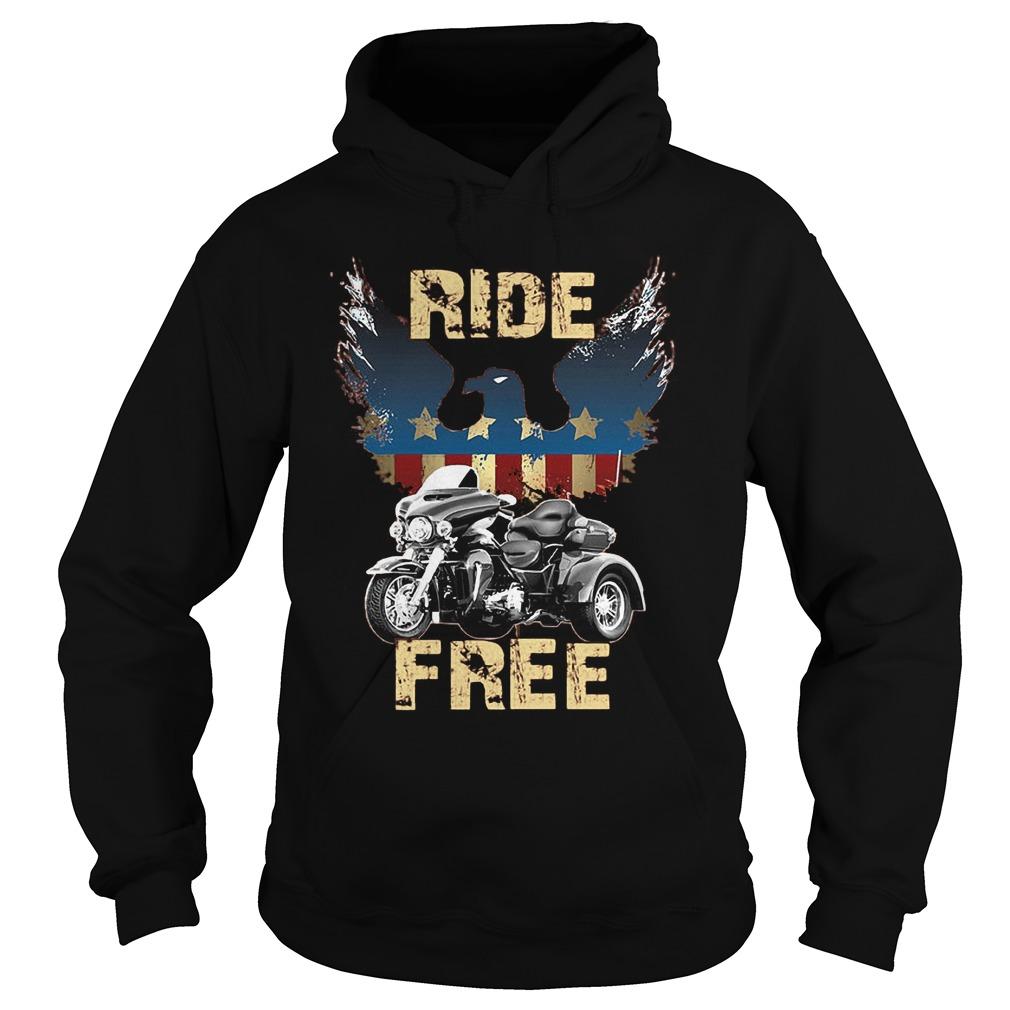 Ride America Free T-Shirt Hoodie