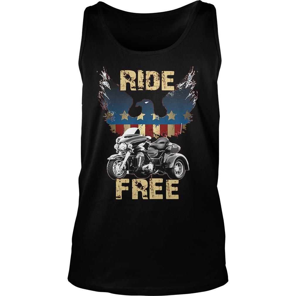 Ride America Free T-Shirt Unisex Tank Top