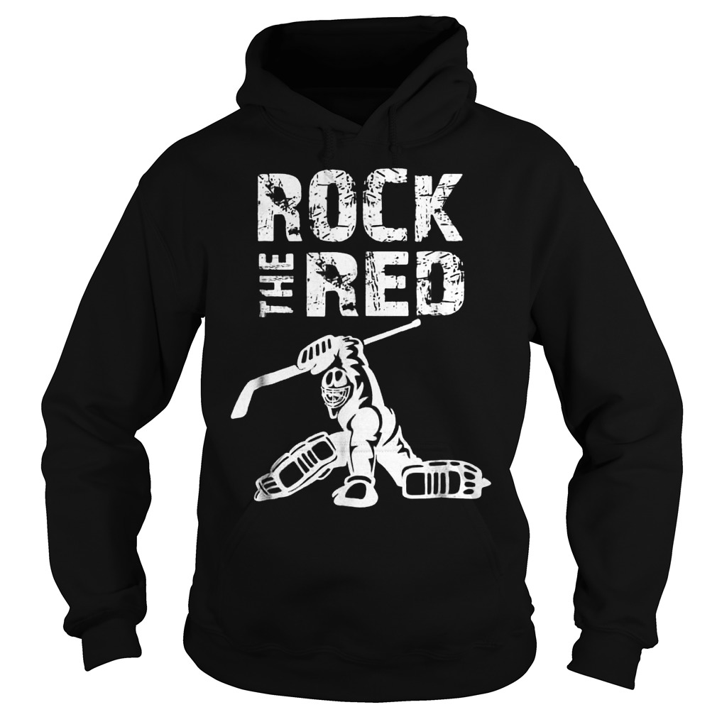 Rock The Red Hoodie