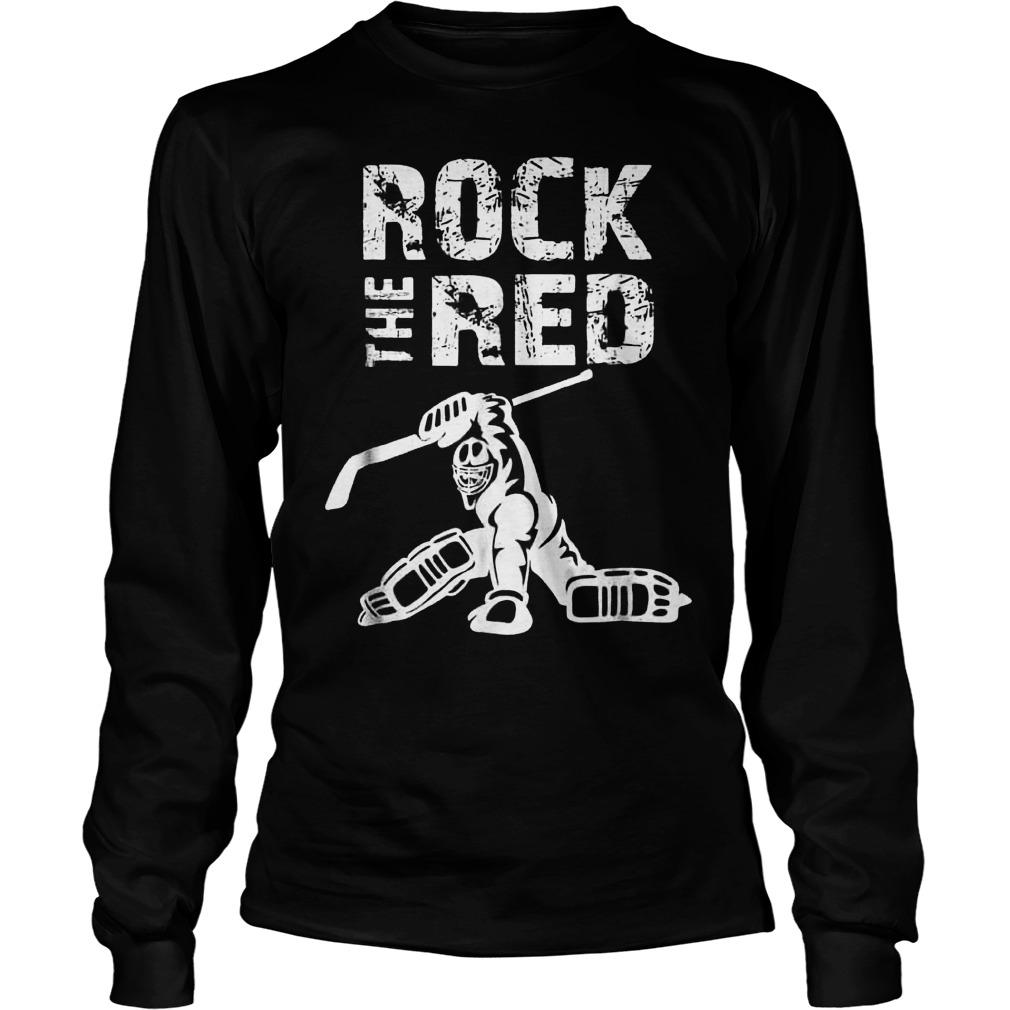 Rock The Red Unisex Longsleeve Tee