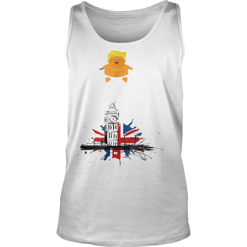 Trump And Baby Blimp T-Shirt Tank Top Unisex