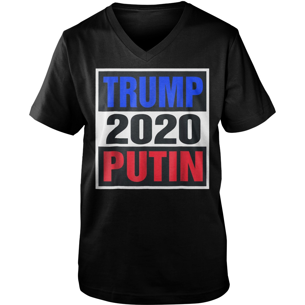 Trump Putin 2020 T-Shirt Guys V-Neck