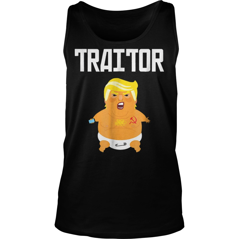 Trump Russia Traitor T-Shirt Tank Top Unisex