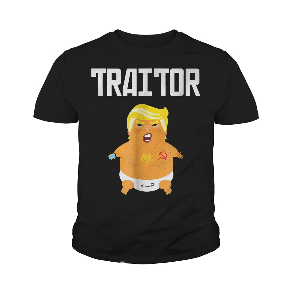 Trump Russia Traitor T-Shirt Youth Tee