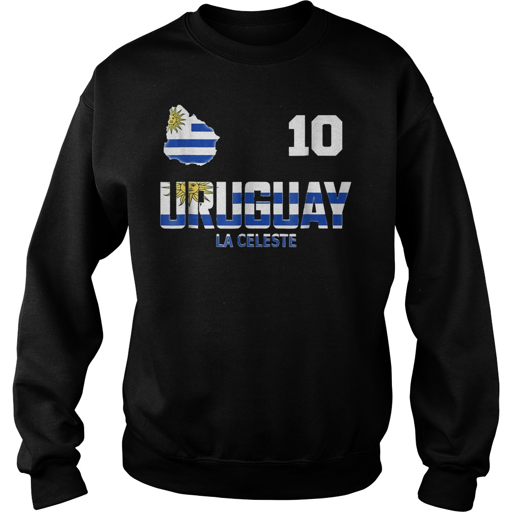 Uruguay Soccer World Cup 2018 T-Shirt Sweat Shirt