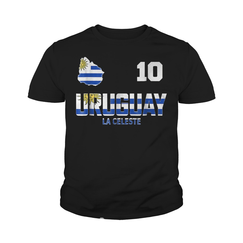 Uruguay Soccer World Cup 2018 T-Shirt Youth Tee
