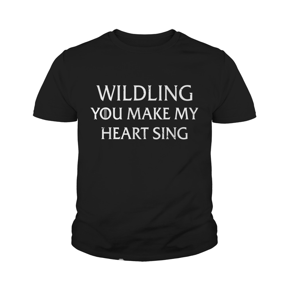 Wilding You Make My Heart Sing T-Shirt Youth Tee