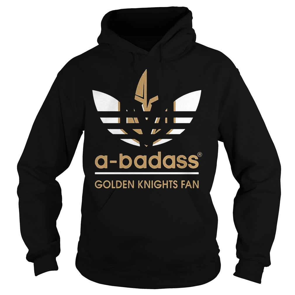 Adidas A-badass Vegas Golden Knights Fan Shirt Hoodie