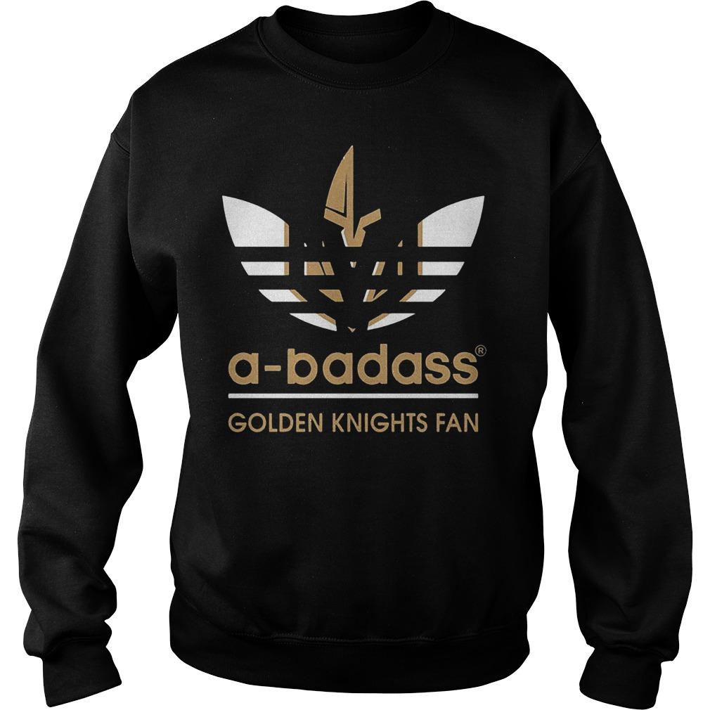 Adidas A-badass Vegas Golden Knights Fan Shirt Sweatshirt Unisex