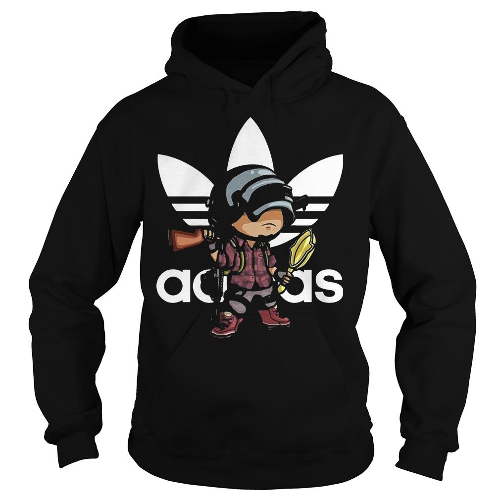 Adidas PUBG Shirt Hoodie