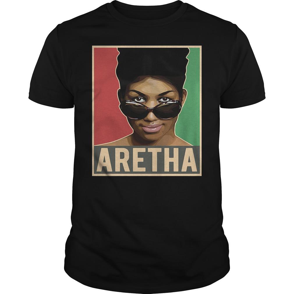 Aretha We Love You Queen Soul Aretha Franklin Shirt