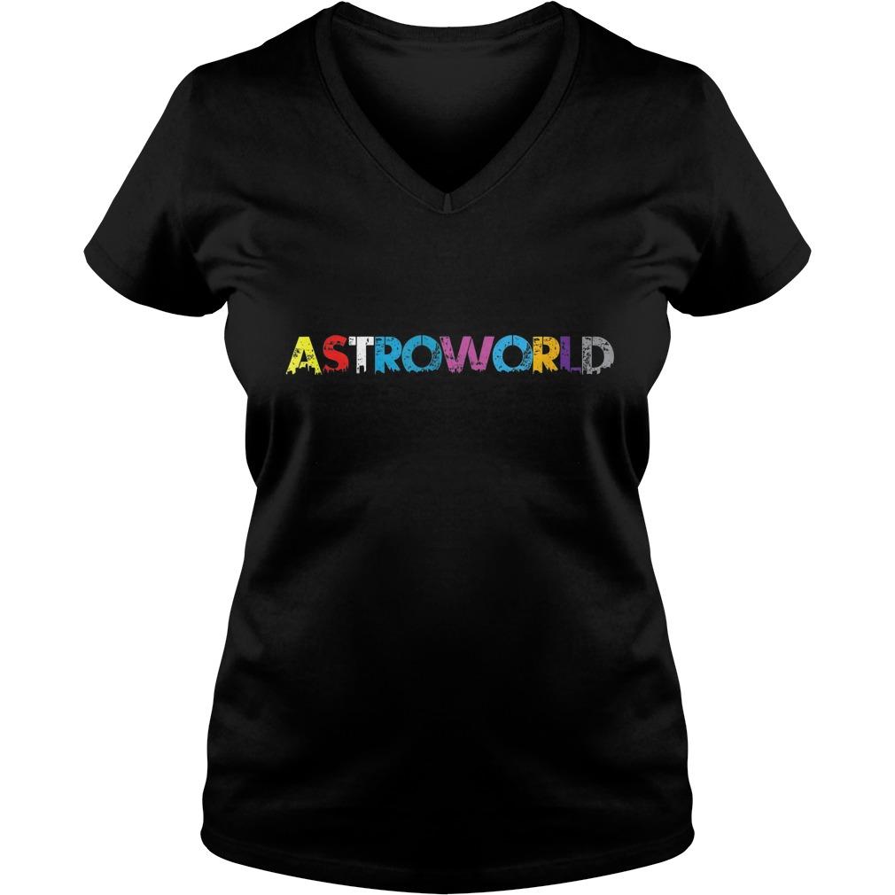 Astroworld Batikaos shirt Ladies V-Neck