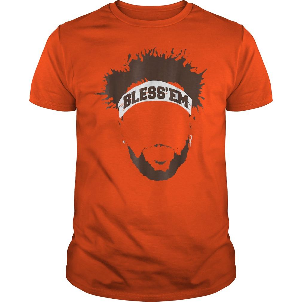 Bless Em Browns Football shirt