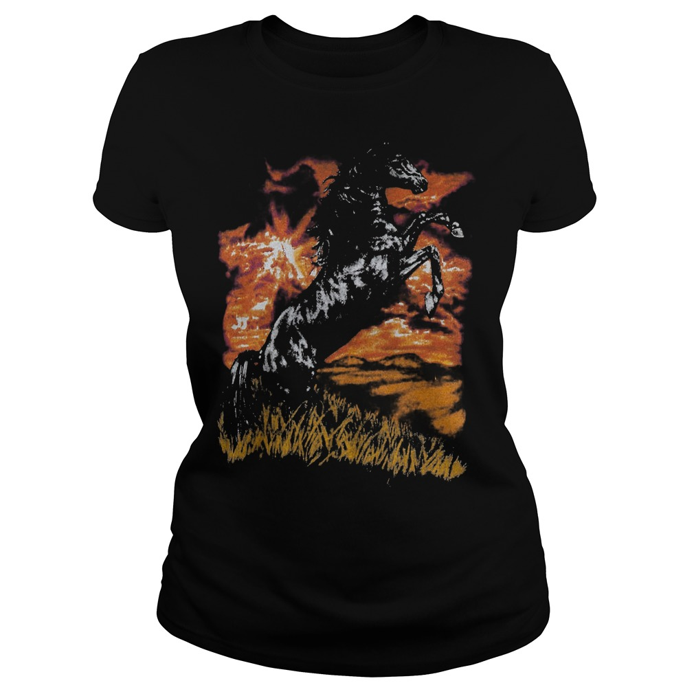 Charlie Horse T-Shirt Classic Ladies Tee