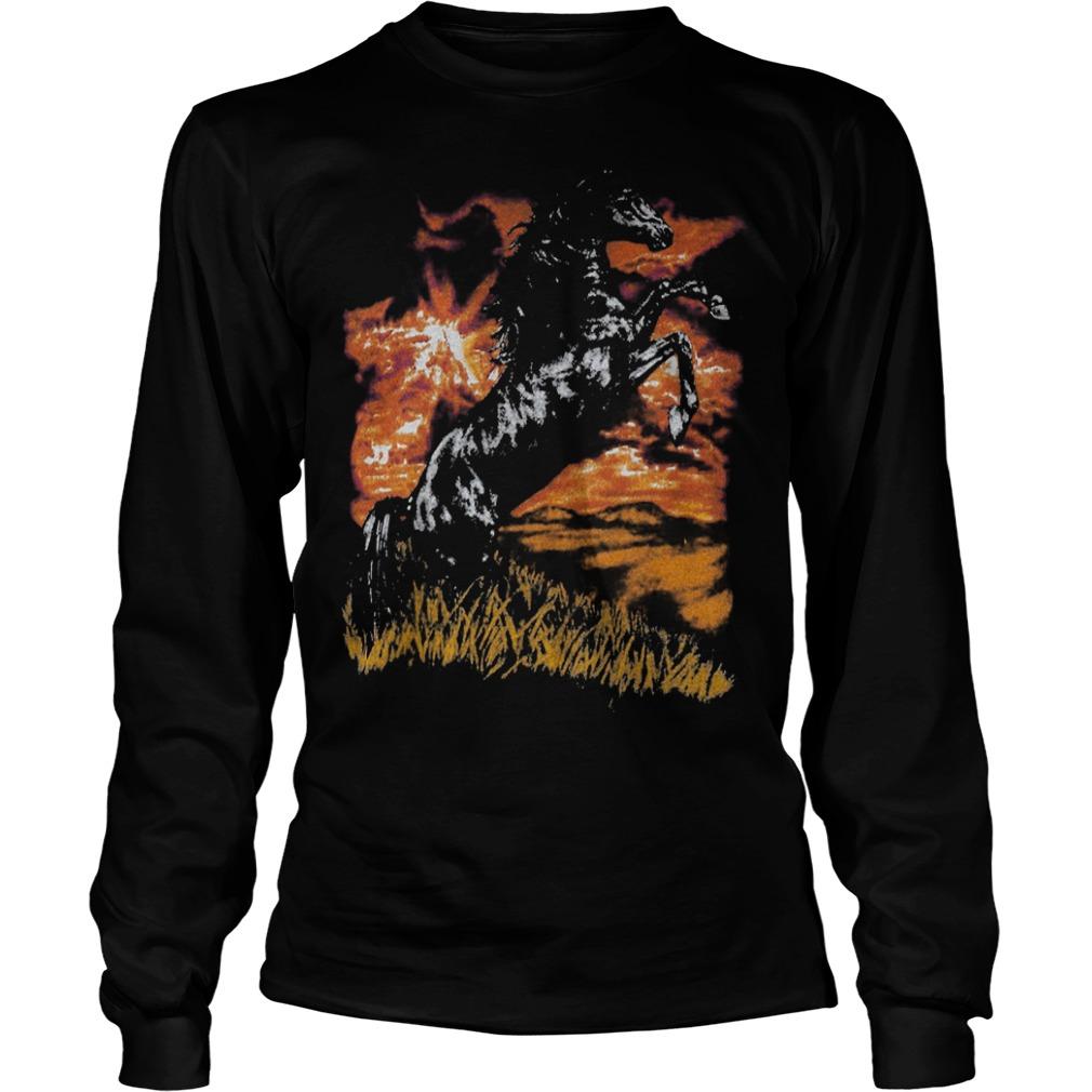 Charlie Horse T-Shirt Longsleeve Tee Unisex