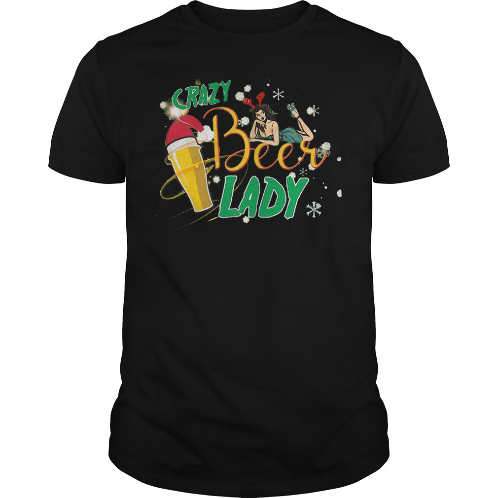 Crazy Beer Lady Shirt