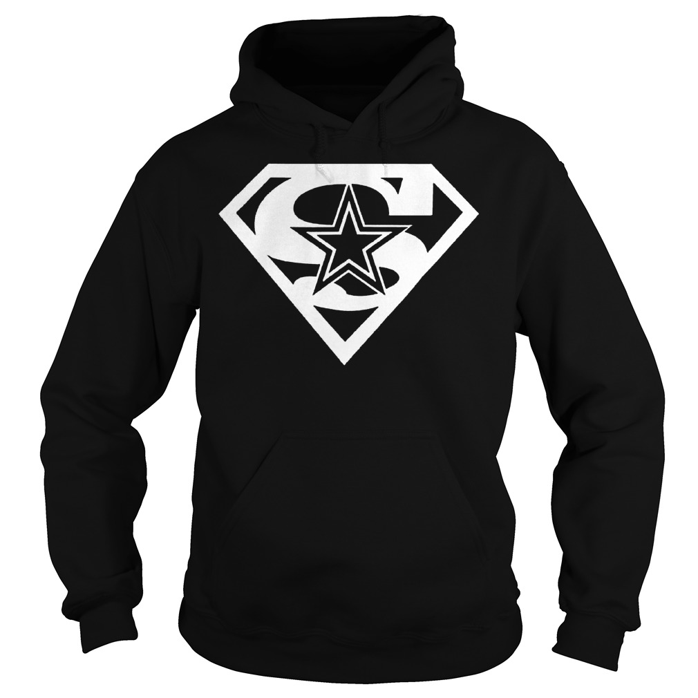 Dallas Cowboy Superman shirt Hoodie