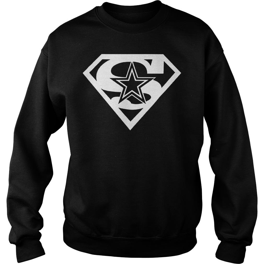 Dallas Cowboy Superman shirt Sweatshirt Unisex