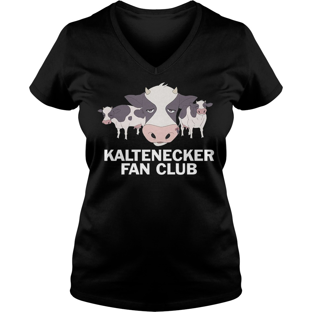 DreamWorks Votron Kaltenecker Fan Club shirt Ladies V-Neck