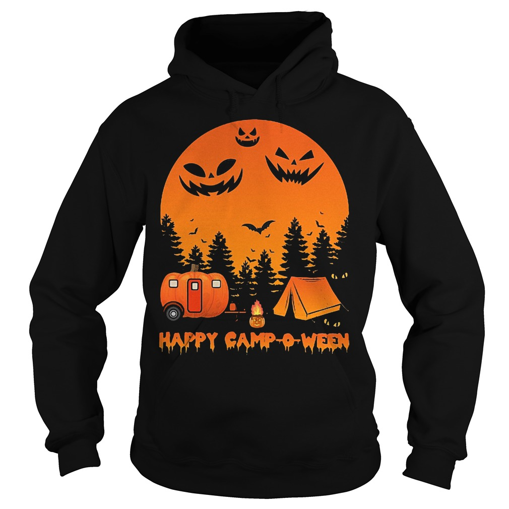 Happy Camp-o-ween Halloween Camping Shirt Hoodie