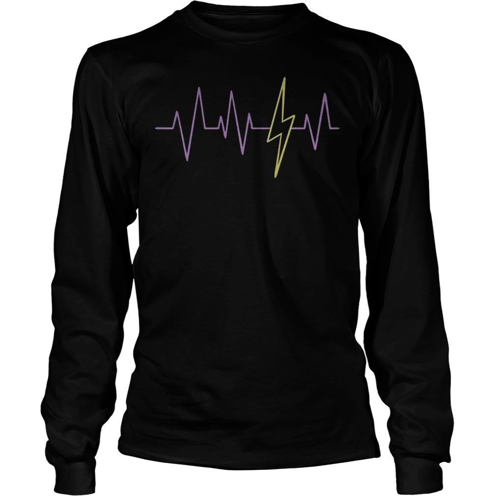 Harry Potter Heartbeat T-Shirt Longsleeve Tee Unisex