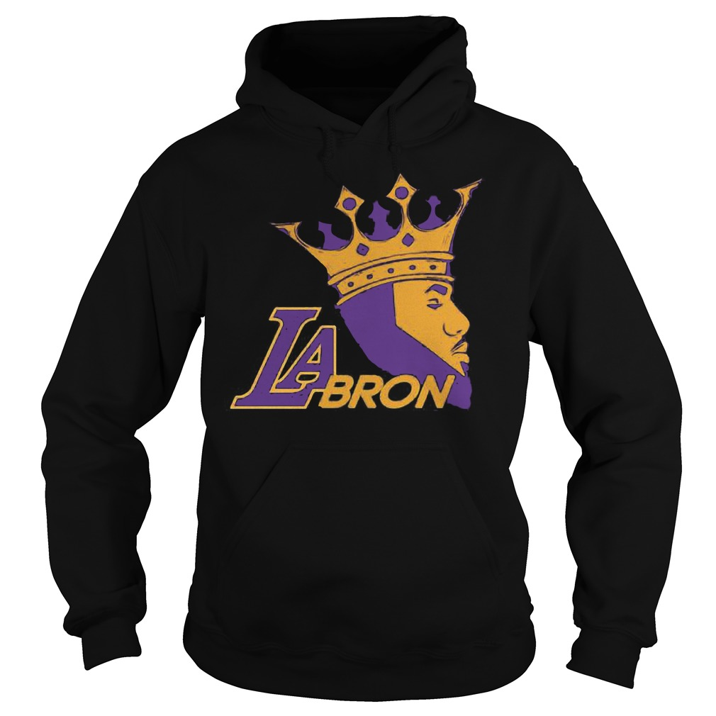 LaBron Lebron Lakers Los Angeles New King shirt Hoodie