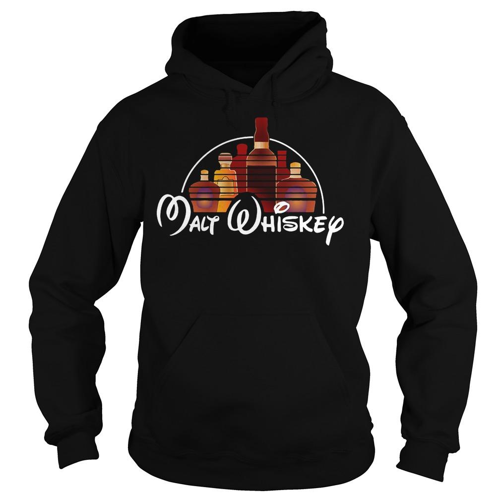 Malt Whiskey Walt Disney X Whiskey Shirt Hoodie