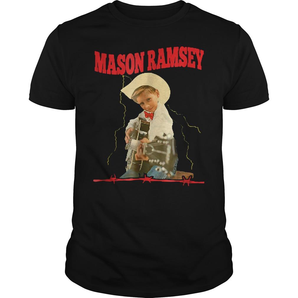 Mason Singer Ramsey Boy Guitar Shirt