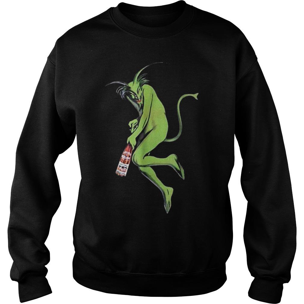 Maurin Quina Green Devil Absinthe shirt Sweatshirt Unisex