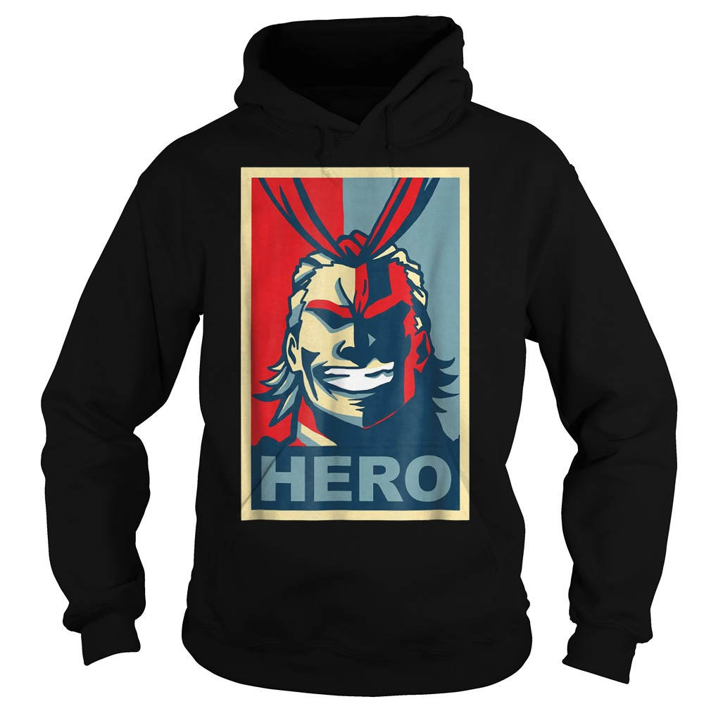 My heroes Academia Art All Might Anime Shirt Hoodie