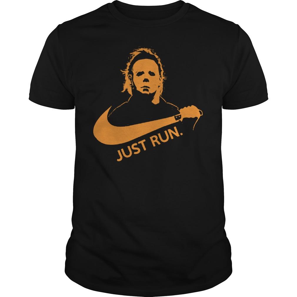 Nike Michael Myer Just run shirt