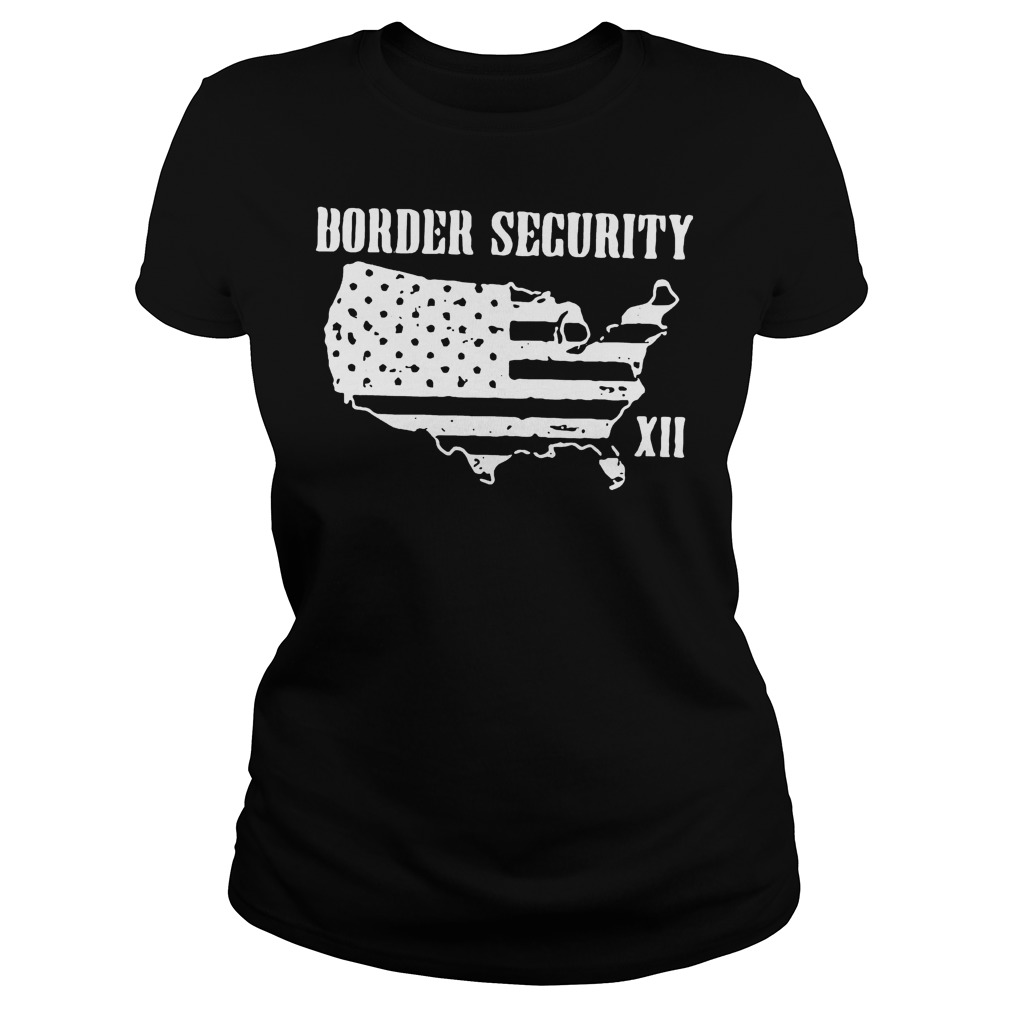 Warning Illegally Entering The United States T-Shirt Classic Ladies Tee