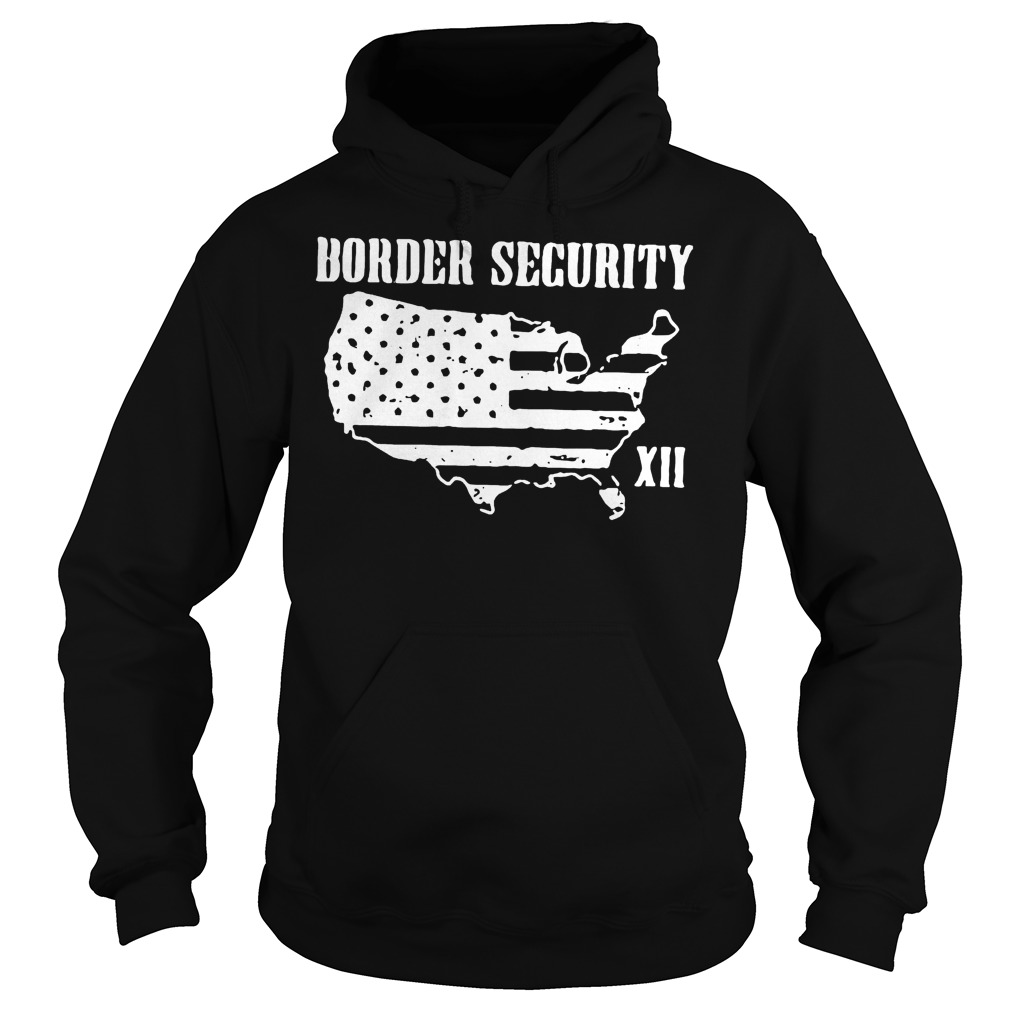 Warning Illegally Entering The United States T-Shirt Hoodie