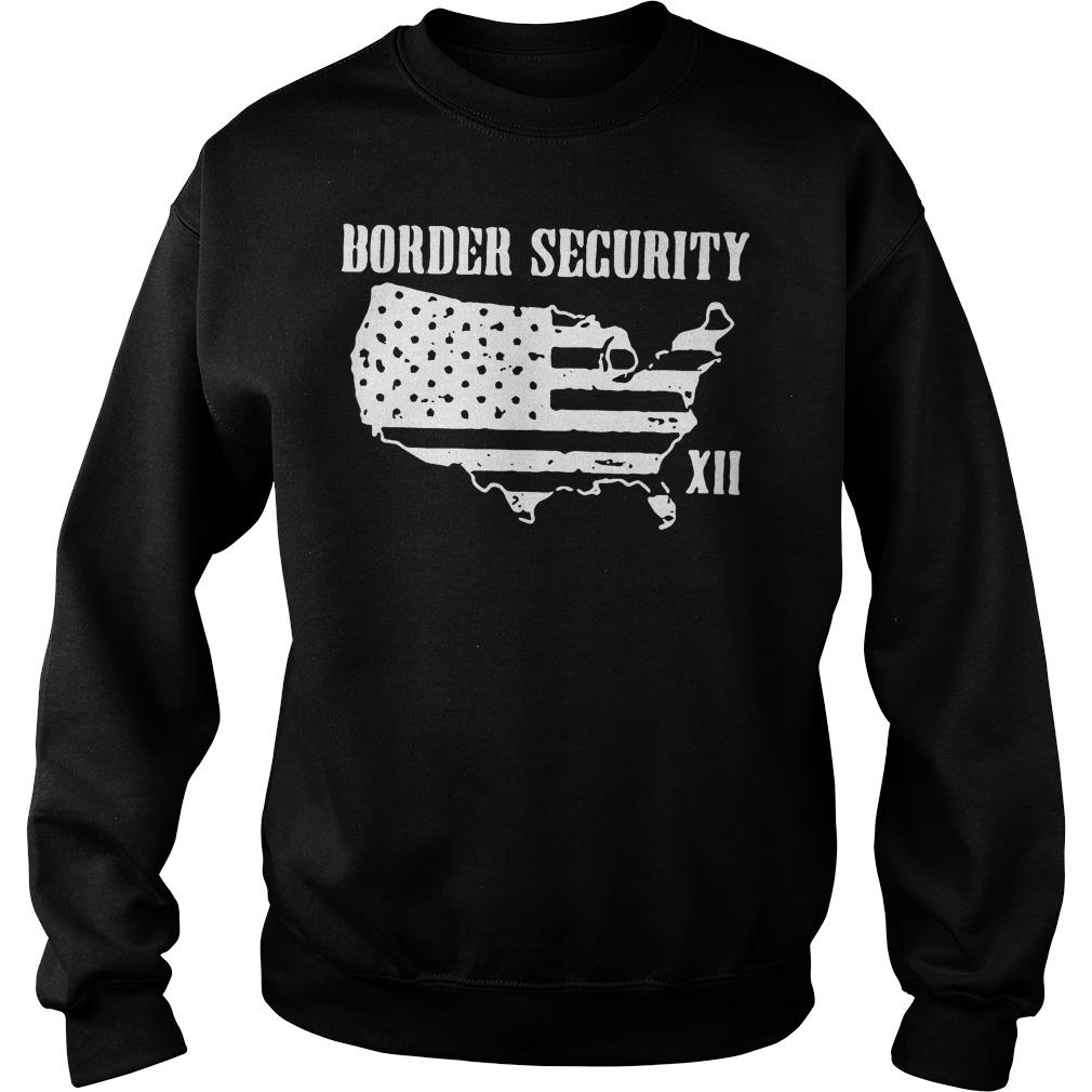 Warning Illegally Entering The United States T-Shirt Sweatshirt Unisex