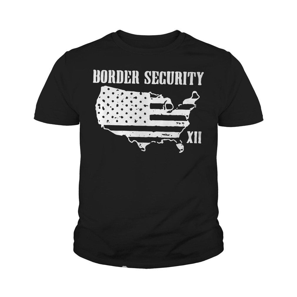 Warning Illegally Entering The United States T-Shirt Youth Tee