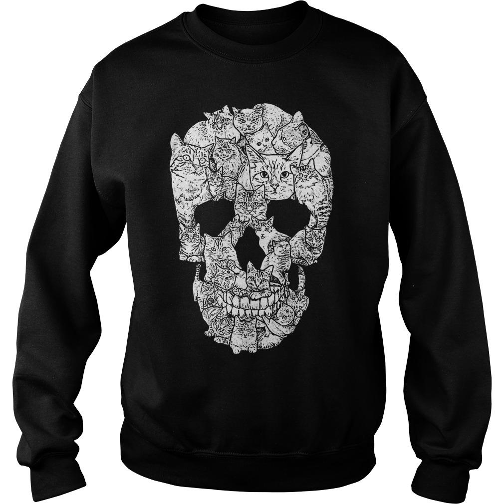 Cat Skull shirt Sweatshirt Unisex