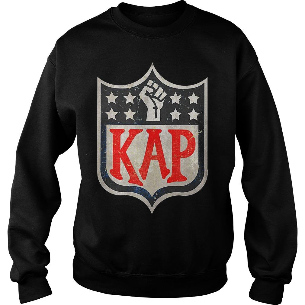 4172e7bda Colin Kaepernick in NFL logo shirt Custom Ink Fundraising