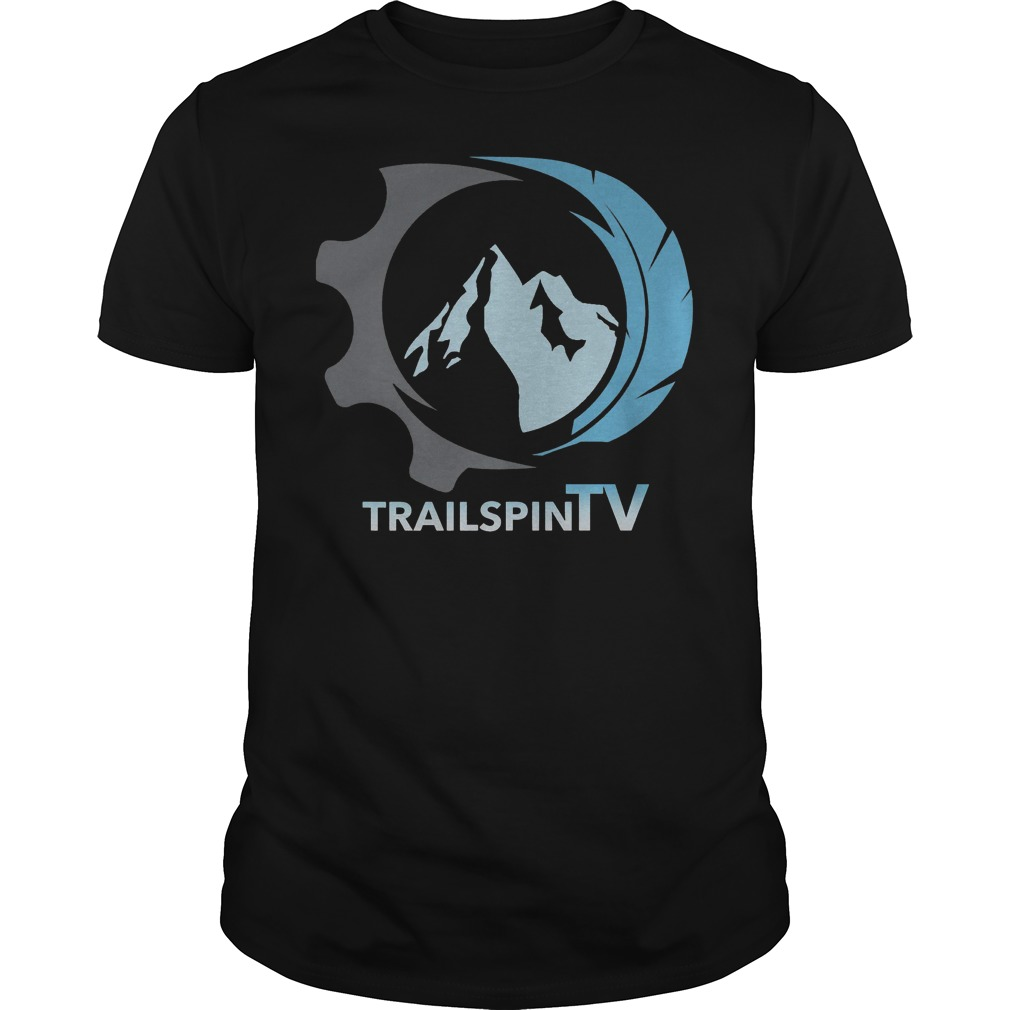 Colored TrailspinTV logo shirt