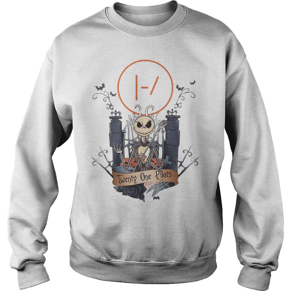 Jack Skellington Twenty One Pilots shirt Sweatshirt Unisex