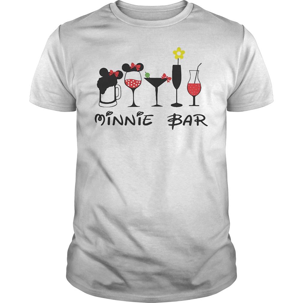 Minnie bar minnie mouse Epcot food and wine Festival Disney shirt