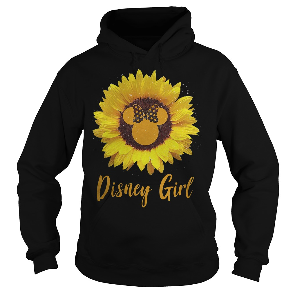 Sunflower Minnie Mouse Disney girl Shirt Hoodie
